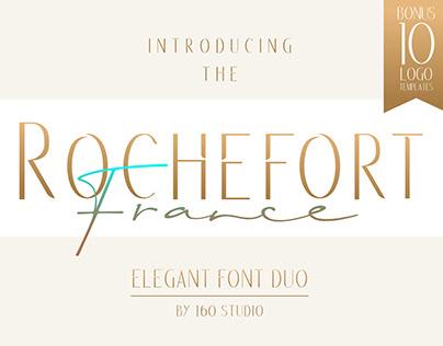 Rochefort Elegant Font Duo