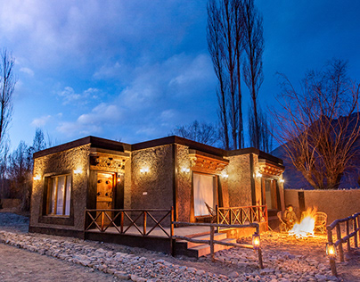 Panah ; The earthen resort