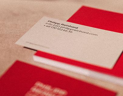 Philipp Reinhard – Corporate Identity