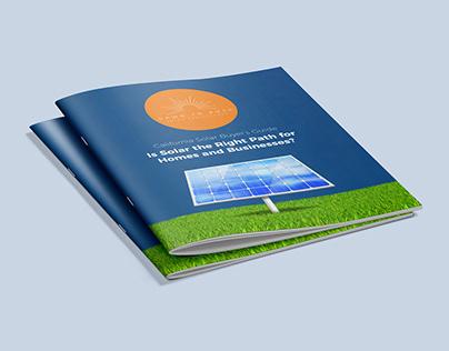 California Solar Brochure Design