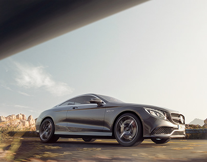 MERCEDES BENZ AMG COUPE