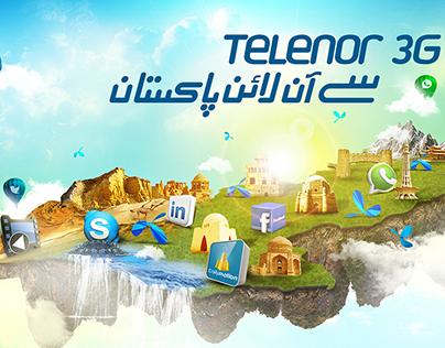 Telenor 3G ka Pakistan
