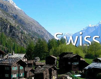 Swiss Alps - Motion Graphics