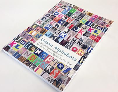 Book Design for Urban Alphabets thesis
