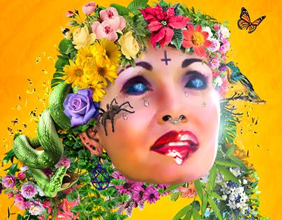 Gilda Cover Artwork · Arco y Flecha Records