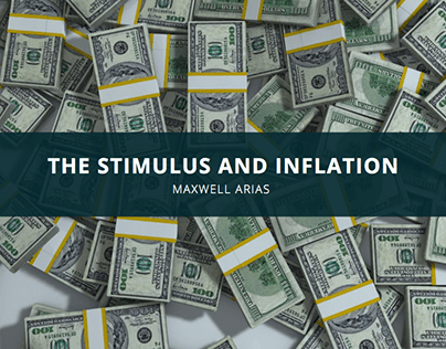 Maxwell Arias Explains the Stimulus and Inflation