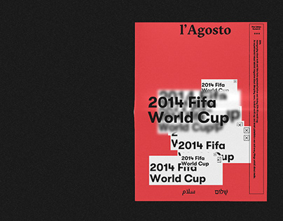 l'Agosto - Visual Magazine - 2014 Fifa world cup