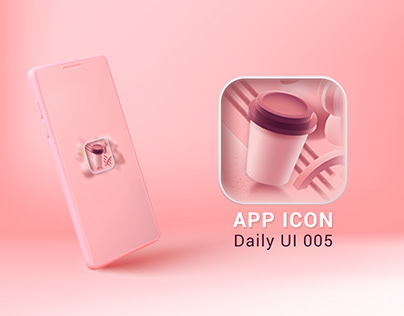 App Icon- Daily Ui Challenge 005