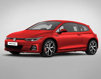 Volkswagen Scirocco GTS 2020