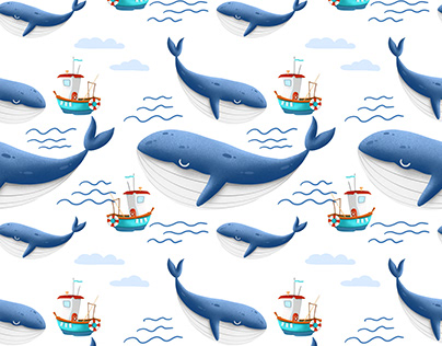 Nautical patterns for bedding