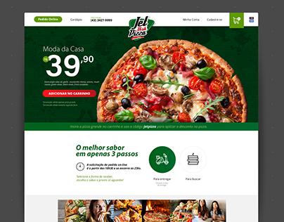 Jet Pizza - Design Inspiration - Ecommerce
