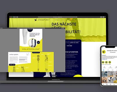 Standpunkt – Webdesign