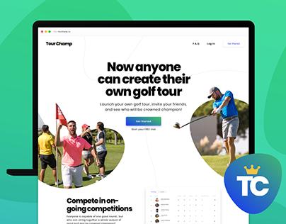 TourChamp - Web App