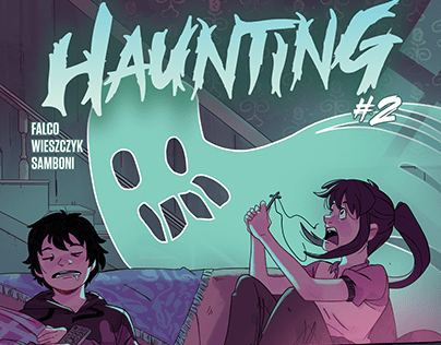 Haunting #2 - Variant Cover