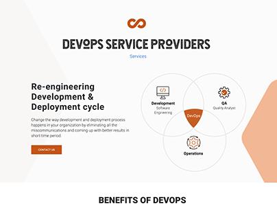 DevOps Services Page