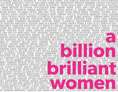 A Billion Brilliant Women