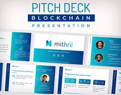 Blockchain Presentation | Pitch Deck