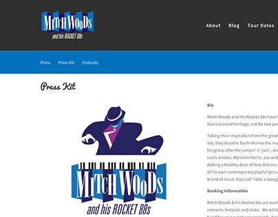Mitch Woods Website