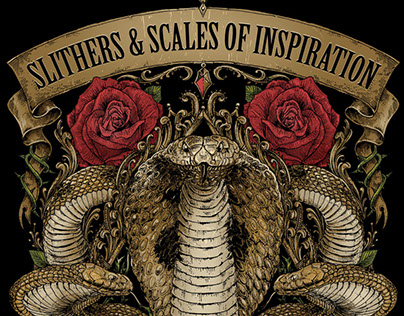 """SLITHERS & SCALES OF INSPIRATION"" book"