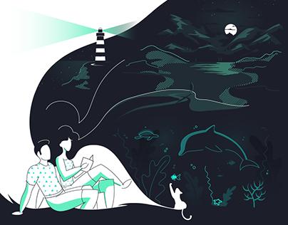 Crafting stories through design | Illustration