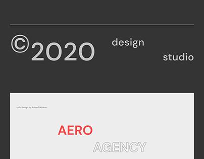 AERO AGENCY — Redesign 2020