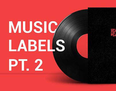 MUSIC LABELS PART. 2