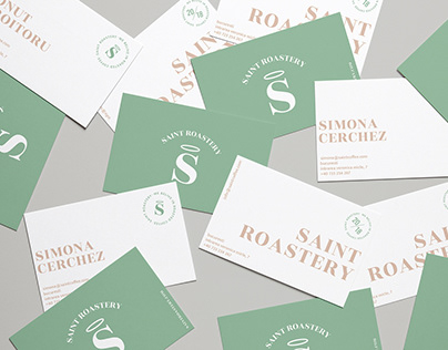 Saint Roastery- Coffee shop Branding