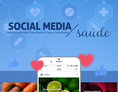 Social Media - Seguimento: Saúde