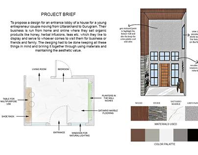 Residential Lobby Design