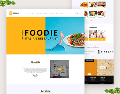Foodie Restaurant Template