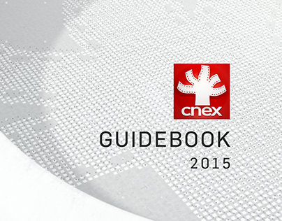 Guidebook Design | CNEX 2015 Channel Rebrand
