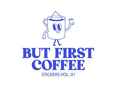 Coffee Stickers Vol.01