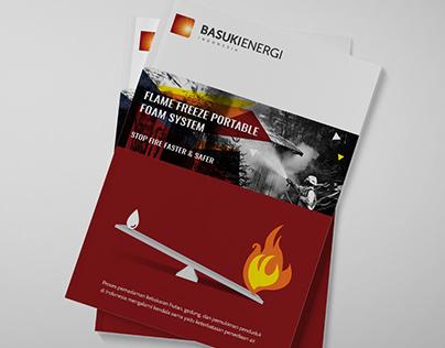Flame Freeze Portable Foam System - Brochure