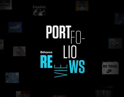 Behance Portfolio Review Kinect Installation