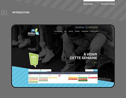 CCSSJ - Site web