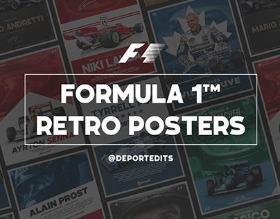 Formula 1™ - Retro Posters