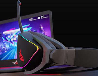 ASUS ROG DELTA 3D MODEL   2021