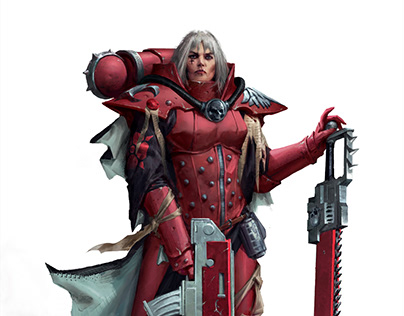 Temple Of Blood-The Adepta Sororitas