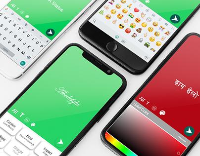 WhatsApp Native Language Status Problem's Solution