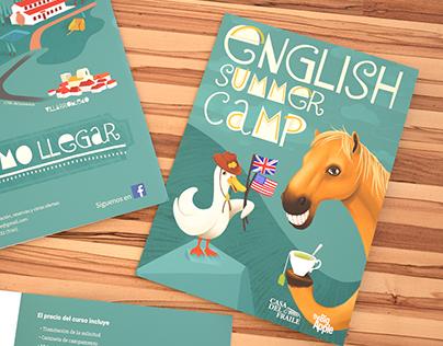 English Summer Camp brochure