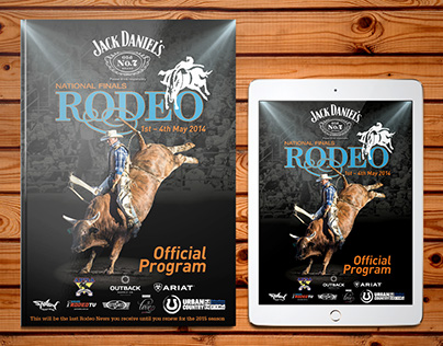National Finals Rodeo Official Program Magazine (APRA)