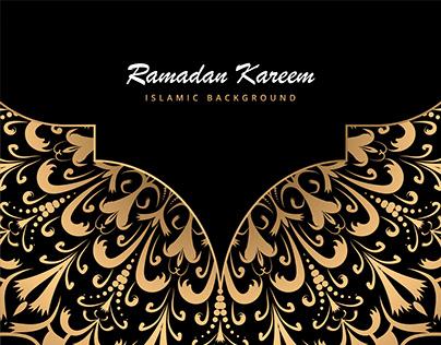 Ramadan Kareem Mandala Background