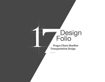 Transportation Design Folio 2017