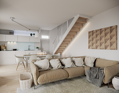 Apartment in Florence - CGI - 04