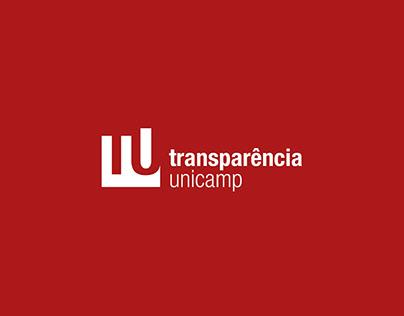 Transparência Unicamp   Visual Identity