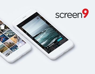 UX / UI design for Online video platform