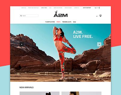 A2M - Online store of women's sportswear