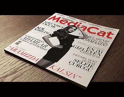 MediaCat / Bu Sayı Aramızda Kalsın Kapak Tasarımı