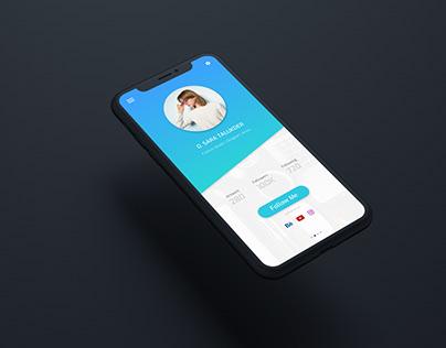 UI/UX Design - Profile