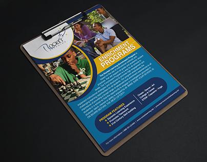 Rocket Learning: Enrichment Brochures